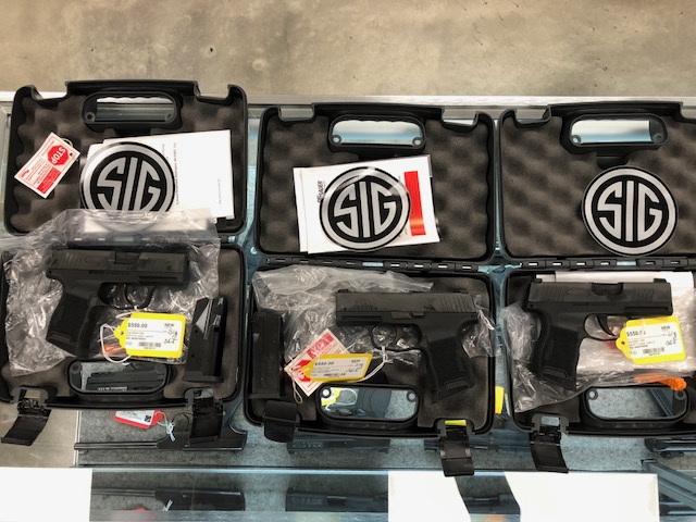 SIG 365s in stock!